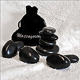 9er para la bolsa de caliente para masaje de piedras de cristal, HOT Rocks