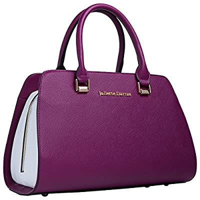 Fashionable, Insulated Hand Bag - Stylish Lunch Tote For The Woman On The Go - Women's Designer Lunch Bags - Ladies Multifunctional Lunch Purse For Food, Cosmetics, and Personal Items (Red and White)