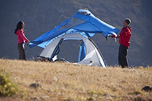 Mountainsmith Genesee 4 Person 3 Season Tent Lotus Blue
