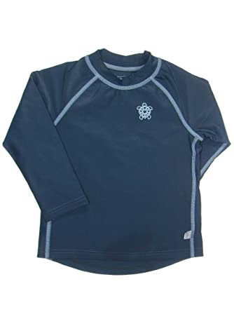Baby Tops 6 Months i play. Baby Long Sleeve Rashguard Shirt, Navy, 18 Months
