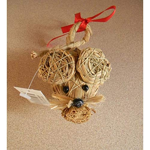 - Awesome Shopper Scandinavian Swedish Straw Christmas Mouse 3 1/2 inch