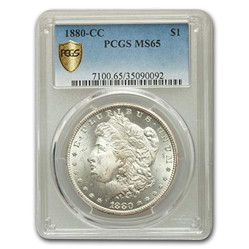 1880 CC Morgan Dollar MS-65 PCGS $1 MS-65 PCGS