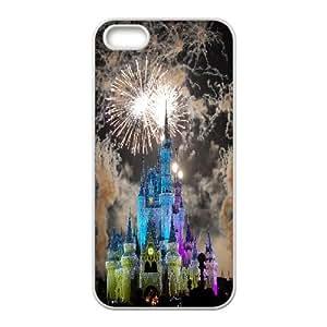 Stevebrown5v Walt Disney World Magic Kingdom Cases for IPhone 5,5S, with White