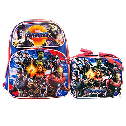 Boys Marvel Avengers 4 END GAME Backpack 12