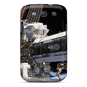 Unique Design Galaxy S3 Durable Cases Covers Outer Space Station Iss Nasa