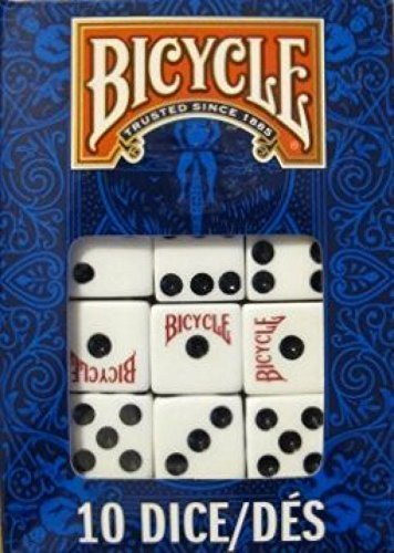 - Bicycle Dice 10 Die Package (4-Pack)