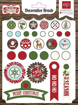 UPC 696859917585, Echo Park Paper Company The Story of Christmas Decorative Brads