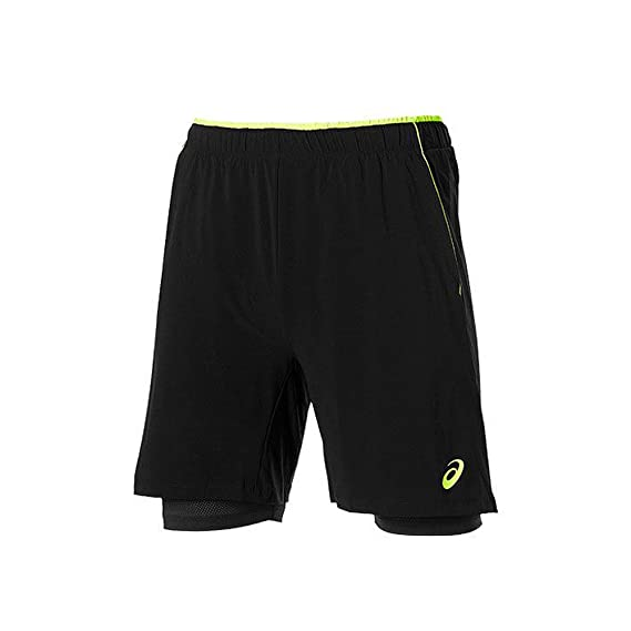 ASICS - Padel Players Short, Color Negro, Talla XL: Amazon ...