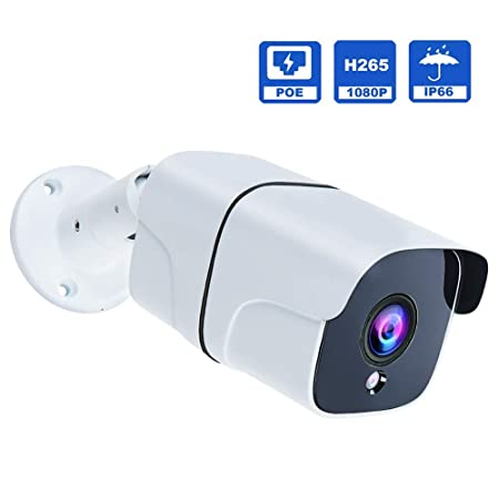 IP PoE Security Camera 2 Megapixel 1080P 3.6 mm Lens Outdoor Bullet Camera IR Night Vision Motion Detection IP67 Weatherproof Support