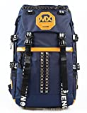 LY Backpack traveling bags mountaineering backpack shoulder bag riding shoulder bag , deep blue