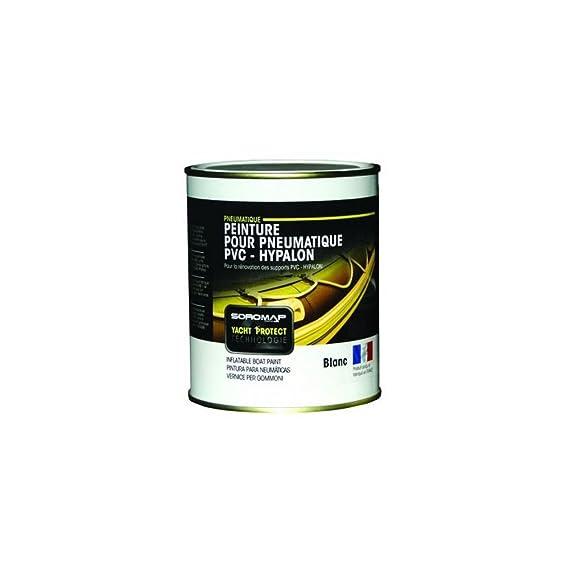 SOROMAP Peinture Pneumatique 0,75L Blanc: Amazon.fr: Sports Et Loisirs