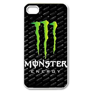 IPhone 4,4S Phone Case for Classic theme Monster Energy pattern design GCTMSEY888451