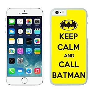 4EVER Cool Cell Case for Iphone 6 White, Batman Iphone 6 Shell Cover
