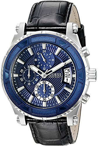 GUESS U0673G4 Silver Tone Stainless Chronograph