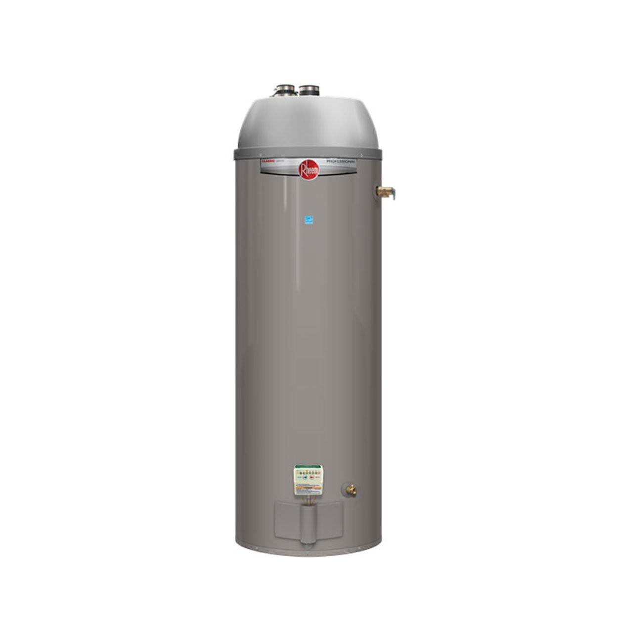 Rheem PROG40-40N RH67 PDV Professional Classic Residential 40K BTU Power Direct Vent Natural Gas Water Heater, 40-Gallon