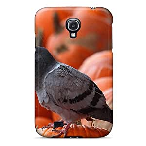 New STWanke Super Strong Pigeon Pumpkins Tpu Case Cover For Galaxy S4