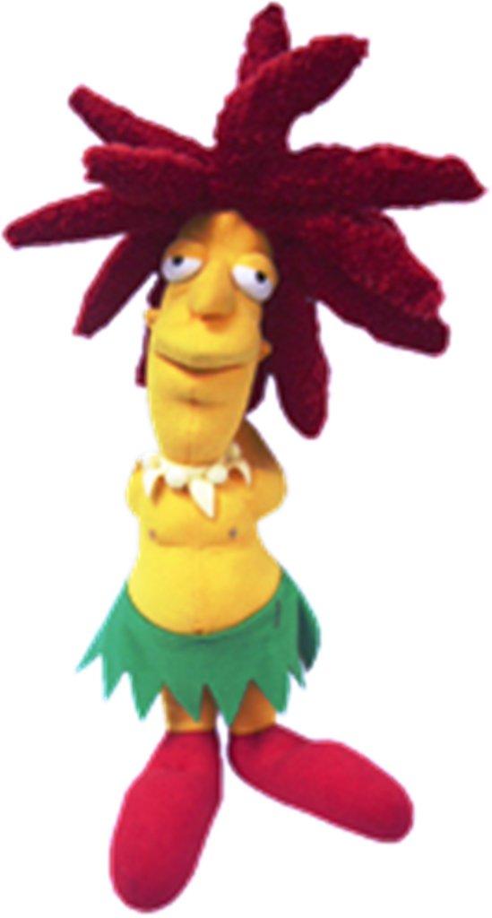 United Labels 1000396 - Peluche Los Simpsons (PELUNI022) - Peluche Actor Secundario Bob (30 cm)https://amzn.to/2C1GT2R
