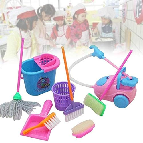 Feriay New Kids Children Simulation Cleaning Supplies Set Puzzle Early Education Toys Washing Machines