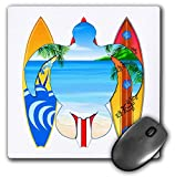 Best 3dRose Turtle Beach Mouse Pads - 3dRose Macdonald Creative Studios – Surfing - Surfing Review