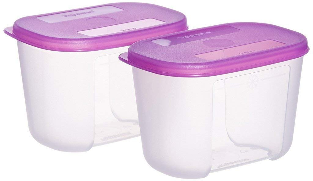 Tupperware Mini Freezer Mate Set 300ml, Set of 2