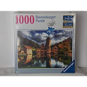 Ravensburger 1000 Piece Mespelbrunn Castle Puzzle