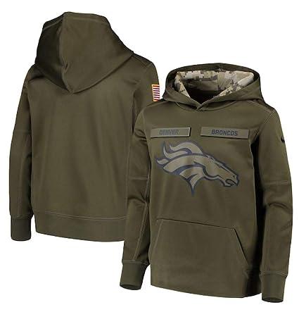 best website 1f3b5 38c24 Amazon.com : NIKE Youth Denver Broncos Green Salute to ...