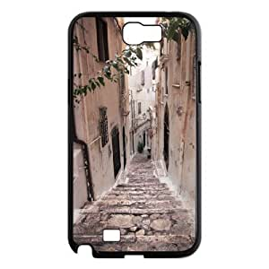 ALICASE Diy Design Back Case Road for Samsung Galaxy Note 2 N7100 [Pattern-1]