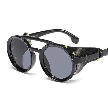 Efryju Gafas de Sol Steampunk para Hombres, Gafas ...