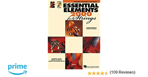 Essential Elements 2000 for Strings - Book 1: Teacher Resource Kit ...