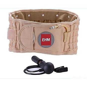 EHM Lumbar Spinal Air Decompression Back Belt Brace