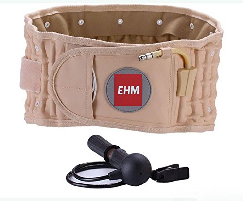 Decompression back Belt Pain Lumbar support by EHM Small, medium , Large by EHM