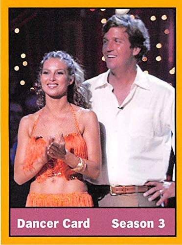 Tucker Carlson trading card Elena Grinenko Dancing With The Stars #13 Size 3x4 inches