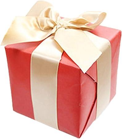 Navidad Caja De Regalo Cartón Navidad Decoración Suministros Escena Disposición: Amazon.es: Hogar