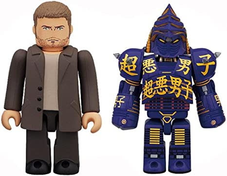 amazon com medicom real steel noisy boy and charlie kubrick 2 pack