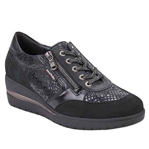 MOBILS 5 MOBILS Womens Womens 40 Black Nubuck Patrizia EU Patrizia Shoes qqEP7
