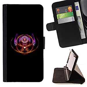 - SYMBOL DESIGN MAGIC ART SPIRITUAL EYE THIRD - - Prima caja de la PU billetera de cuero con ranuras para tarjetas, efectivo desmontable correa para l Funny HouseFOR Samsung Galaxy S3 III I9300