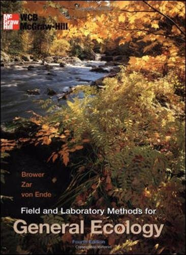 Field and Laboratory Methods for General Ecology by Brand: McGraw-Hill Science/Engineering/Math
