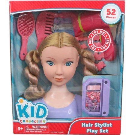 Kid Connection Beauty Salon Styling Head, Blonde