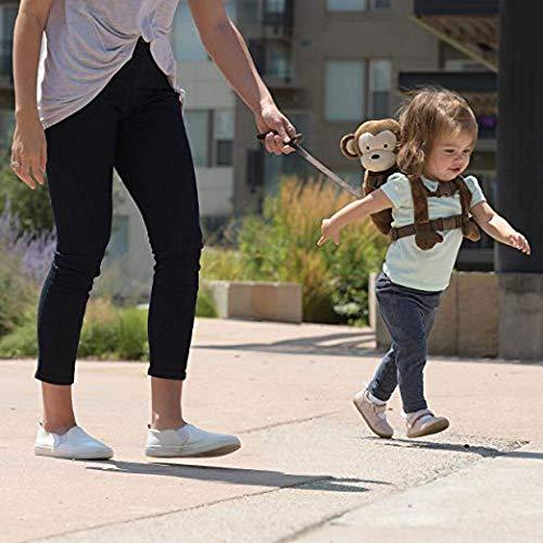 Mochila De Seguridad para Niños Arnés Diseño Animal Anti Pérdida Infantil Mono