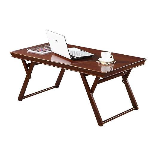 Mesas de café, sofá Mesa Auxiliar Plegable salón Madera Maciza ...