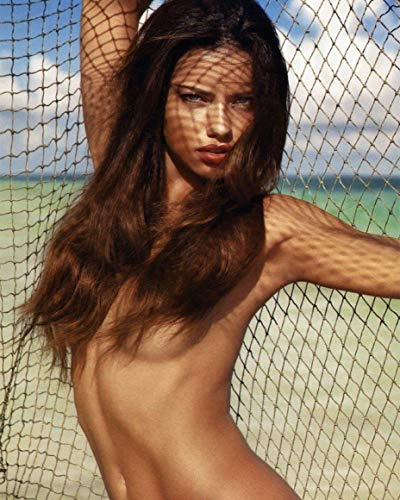 Adriana Lima 8x10 Photo - No Image is Cropped. No white or black borders, What you see is what you get. #AL121 (Adriana Lima Best Photos)
