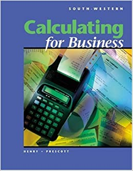 Calculating for Business (with Disk)