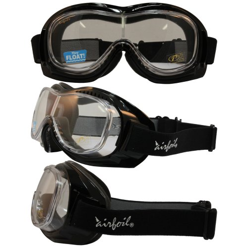 Motorcycle Goggles Over Glasses - 1