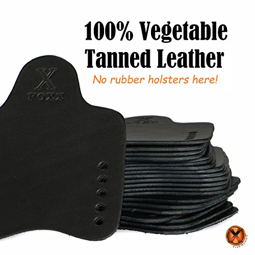 FoxX Holsters Charter Arms Bulldog  44 In The Waistband Hybrid Holster  Tuckable, Concealed Carry Gun Holster (Black)