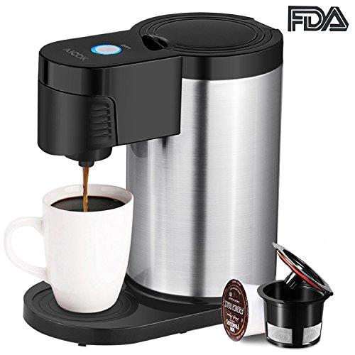 Aicok Single Serve Coffee Maker, Single Cup Coffee Maker for