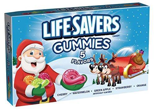 Christmas Lifesaver Gummies - Stocking Stuffer - Two - City Jersey Shopping