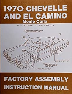 1970 chevelle wiring diagram manual reprint malibu, ss, el camino 1970 Chevelle Motor Wiring Diagram 1970 chevelle factory assembly manual el camino monte carlo malibu, ss 1970 chevelle wiper motor wiring diagram