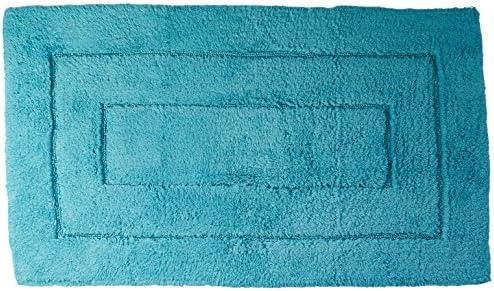 Grund Designer Series Accent//Bath Rug 32-Inch by 32-Inch Aqua Enjoyment