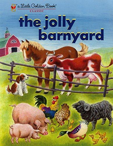 (The Jolly Barnyard (Little Golden)