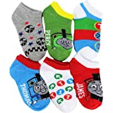 "Thomas and Friends Ankle Socks ""Thomas, James & Percy"" 6-Pack"